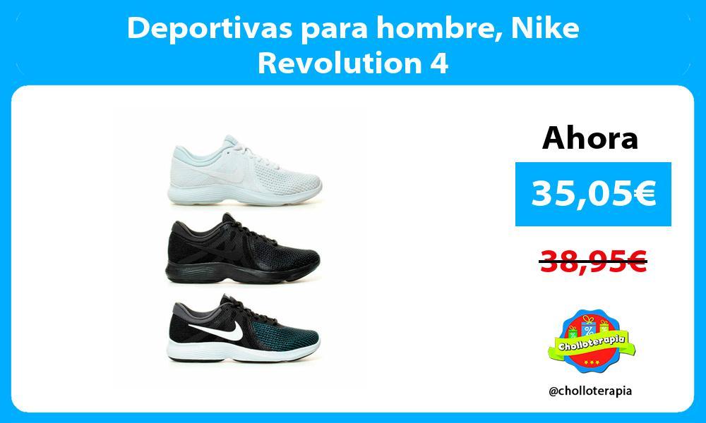 Deportivas para hombre Nike Revolution 4