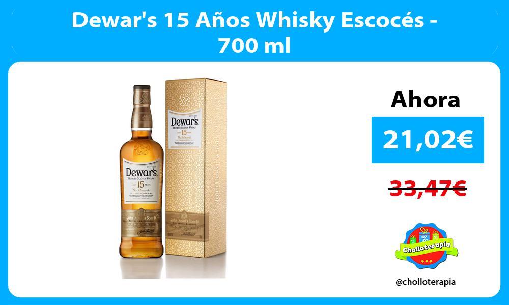 Dewars 15 Años Whisky Escocés 700 ml