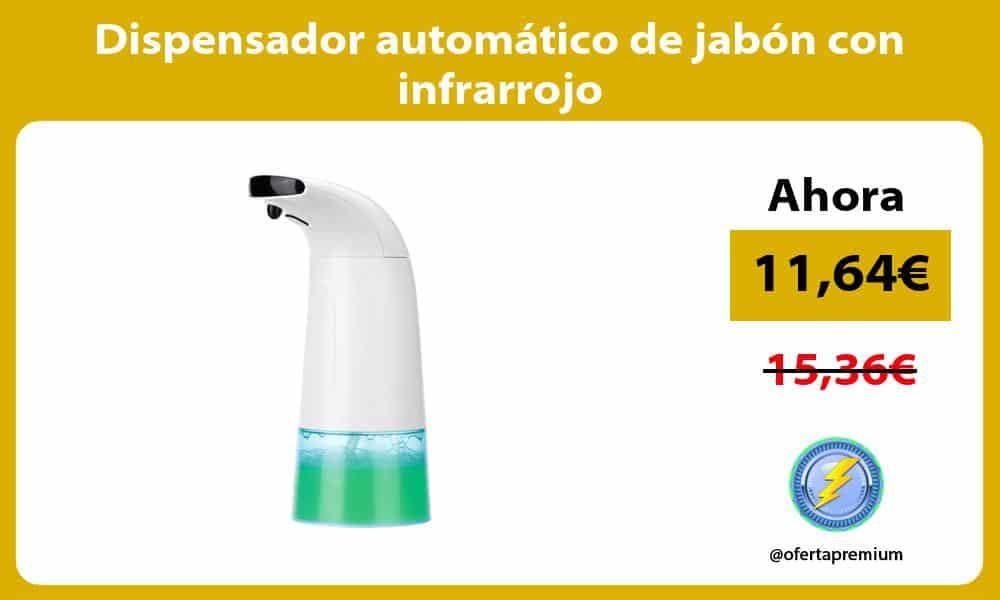 Dispensador automático de jabón con infrarrojo
