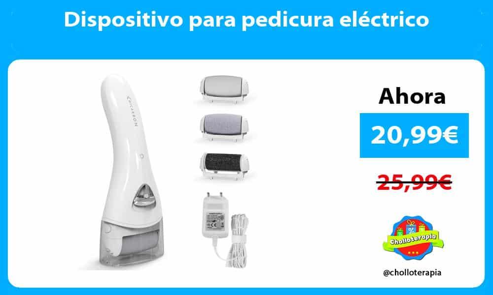 Dispositivo para pedicura eléctrico
