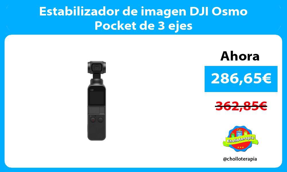 Estabilizador de imagen DJI Osmo Pocket de 3 ejes