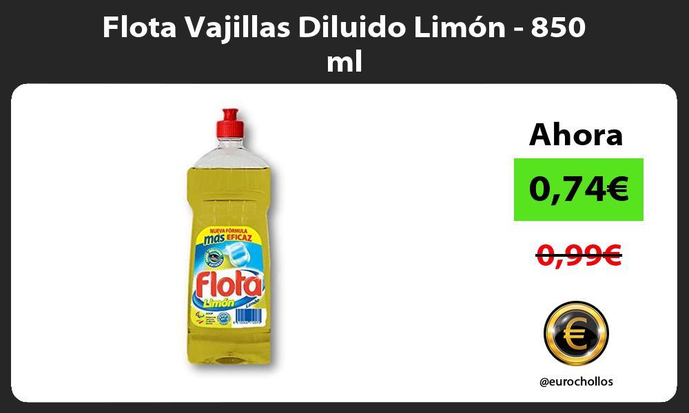 Flota Vajillas Diluido Limón 850 ml