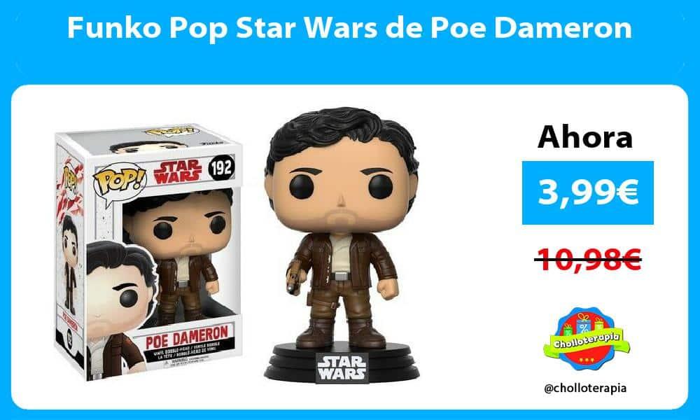 Funko Pop Star Wars de Poe Dameron