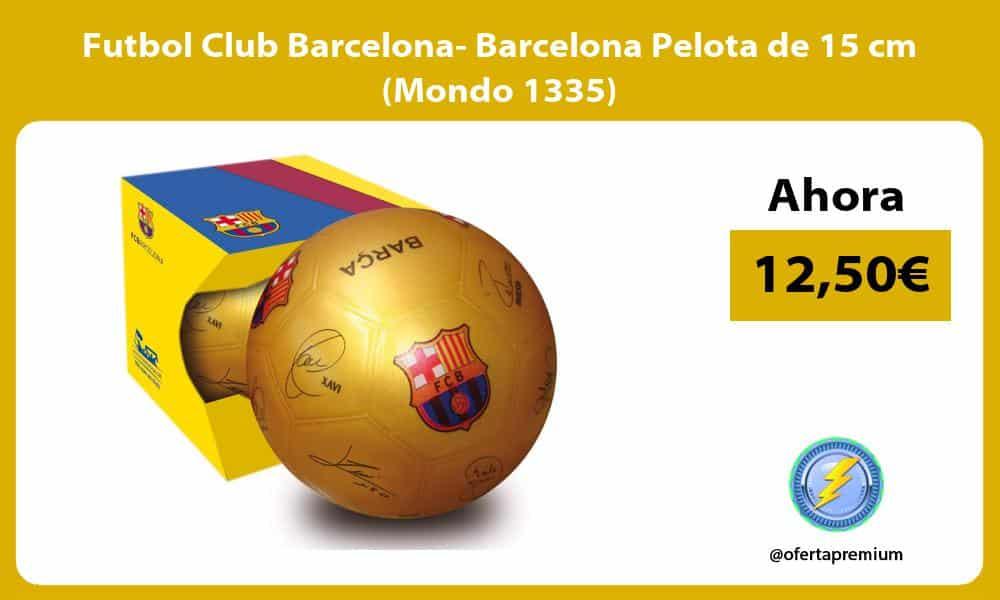 Futbol Club Barcelona Barcelona Pelota de 15 cm Mondo 1335