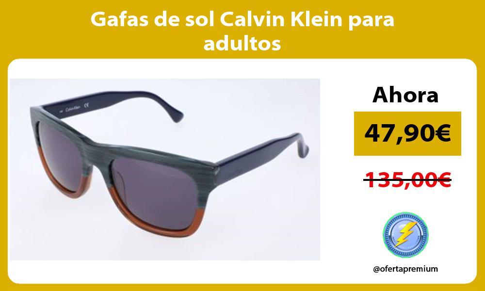 Gafas de sol Calvin Klein para adultos