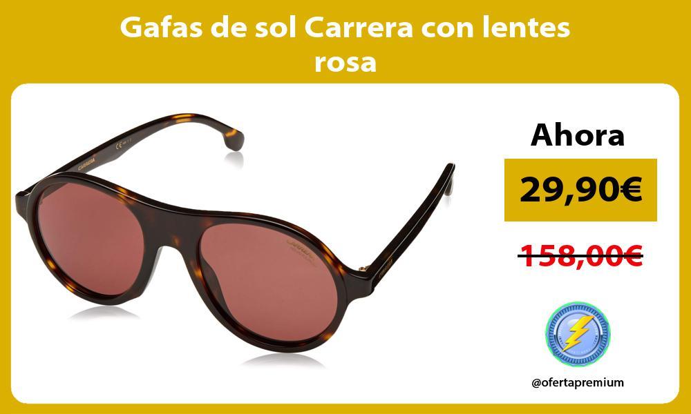 Gafas de sol Carrera con lentes rosa
