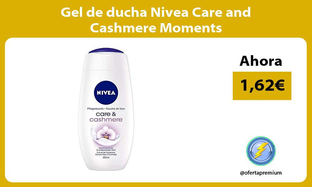 Gel de ducha Nivea Care and Cashmere Moments