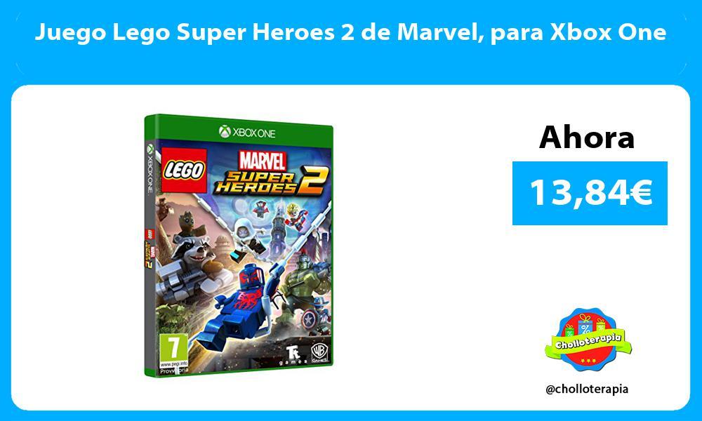 Juego Lego Super Heroes 2 de Marvel para Xbox One