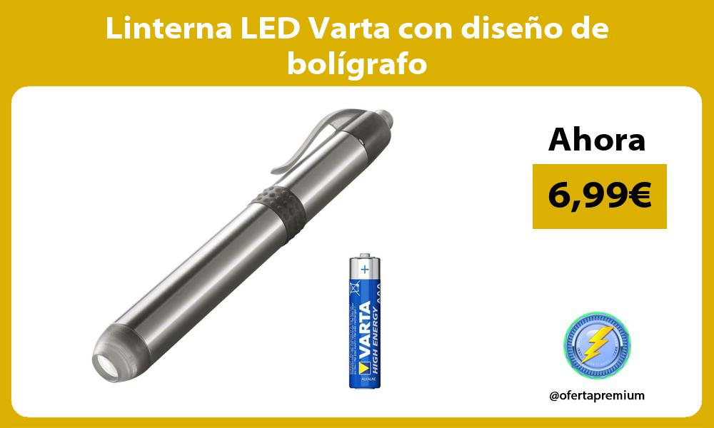 Linterna LED Varta con diseño de bolígrafo