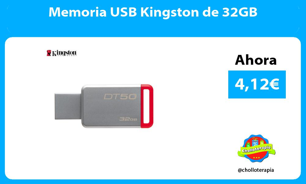 Memoria USB Kingston de 32GB