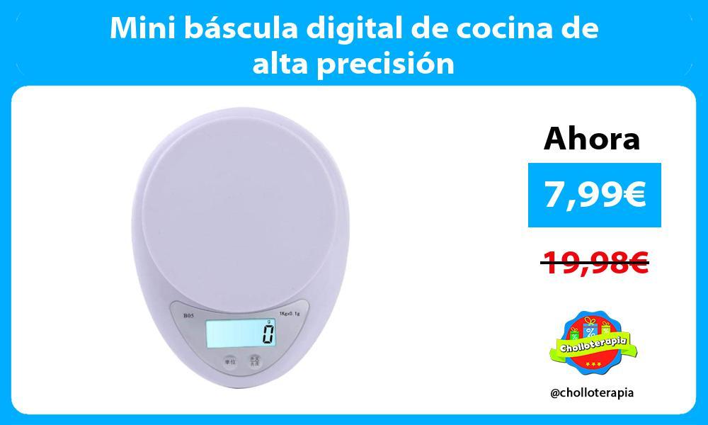 Mini báscula digital de cocina de alta precisión