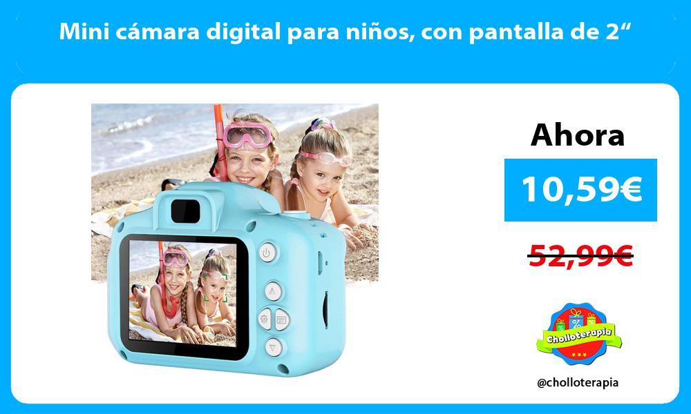 """Mini cámara digital para niños con pantalla de 2"""""""