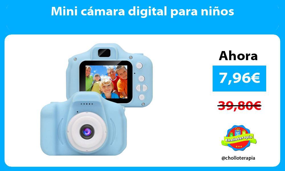 Mini cámara digital para niños