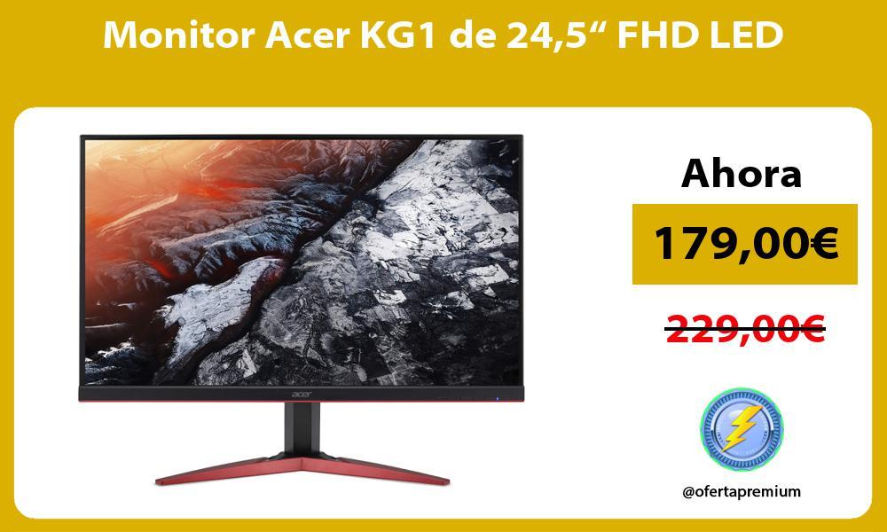 "Monitor Acer KG1 de 245"" FHD LED"