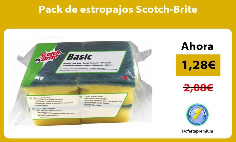 Pack de estropajos Scotch Brite