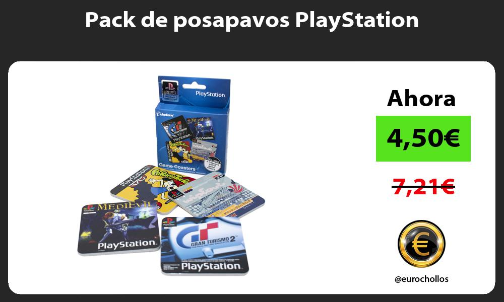 Pack de posapavos PlayStation