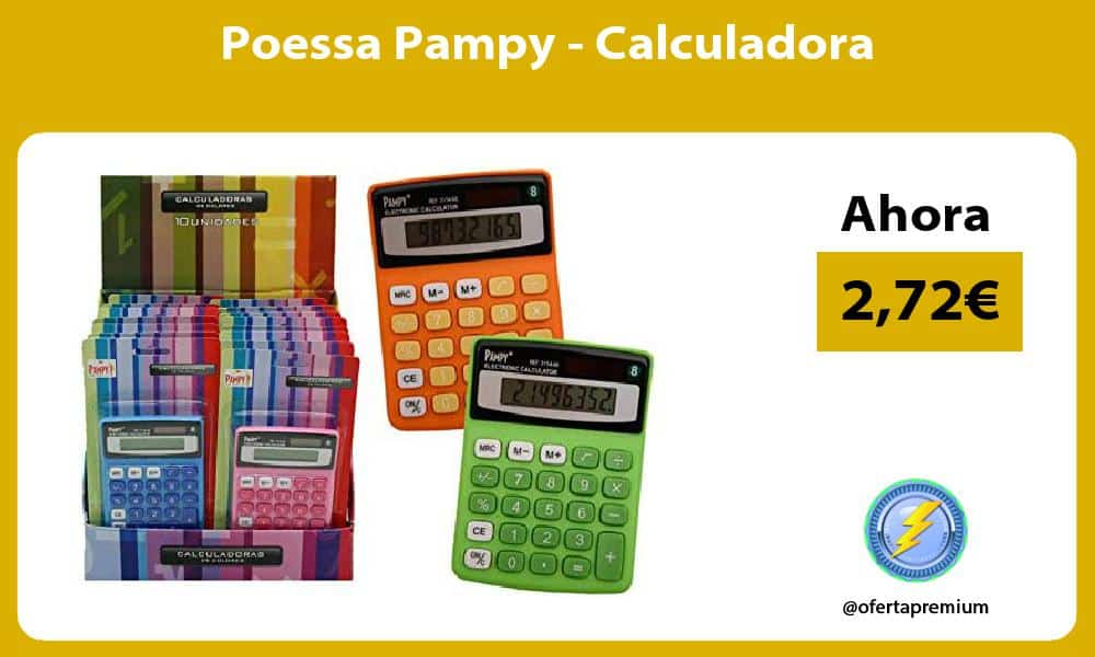Poessa Pampy Calculadora