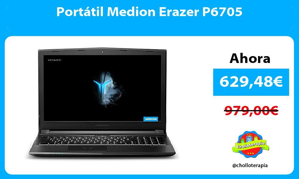 Portátil Medion Erazer P6705