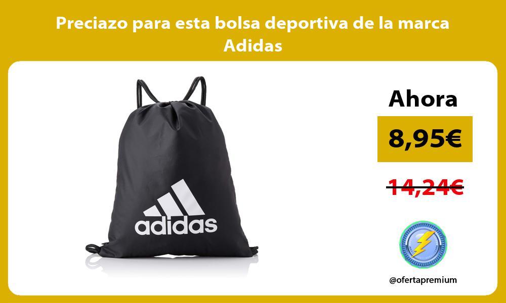 Preciazo para esta bolsa deportiva de la marca Adidas