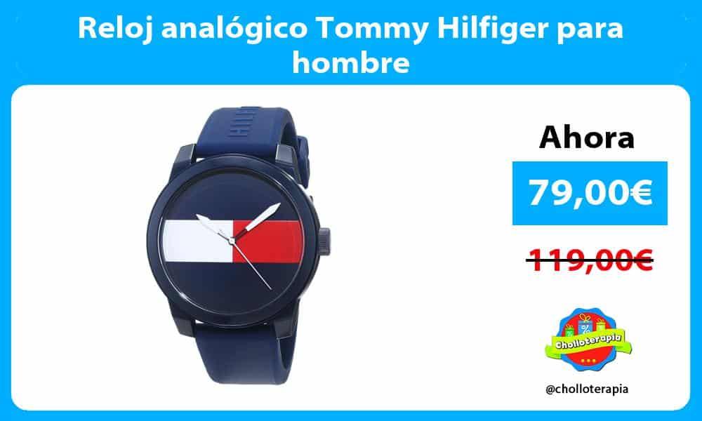 Reloj analógico Tommy Hilfiger para hombre