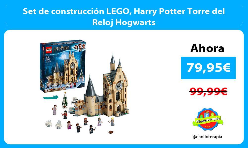 Set de construcción LEGO Harry Potter Torre del Reloj Hogwarts