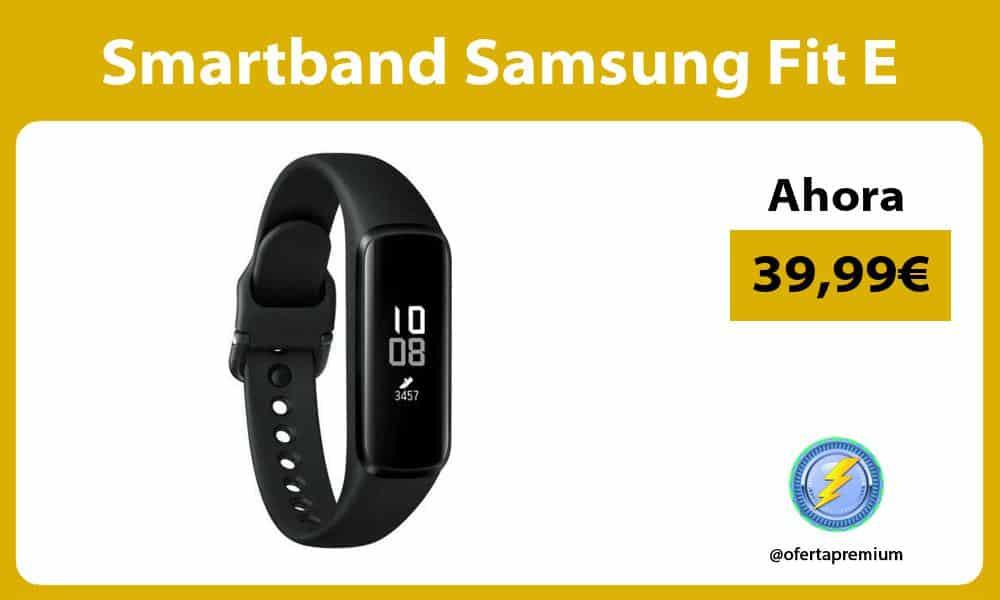 Smartband Samsung Fit E