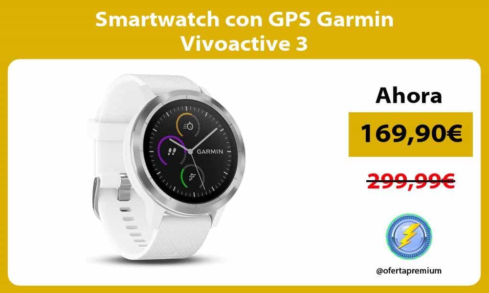 Smartwatch con GPS Garmin Vivoactive 3