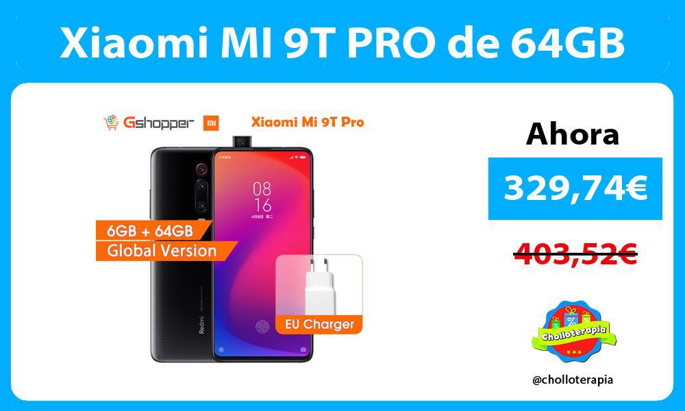 Xiaomi MI 9T PRO de 64GB