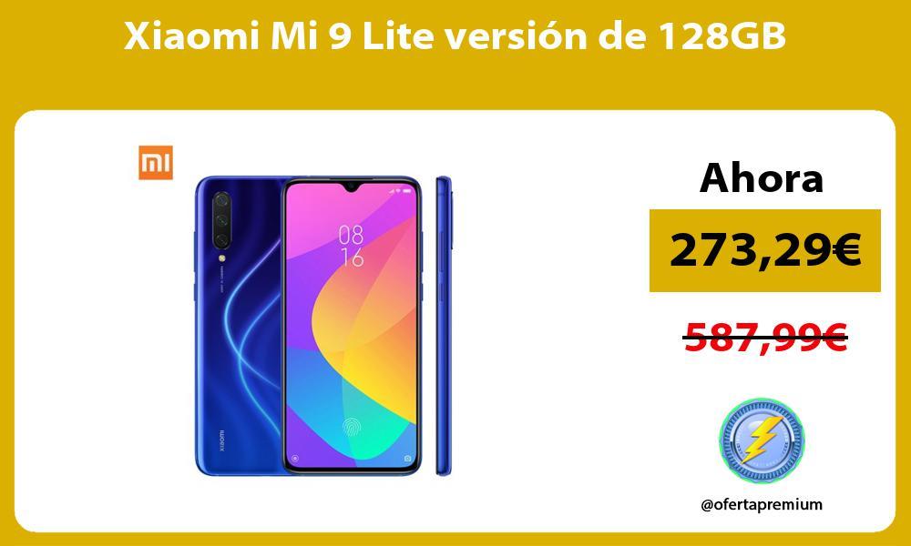 Xiaomi Mi 9 Lite versión de 128GB
