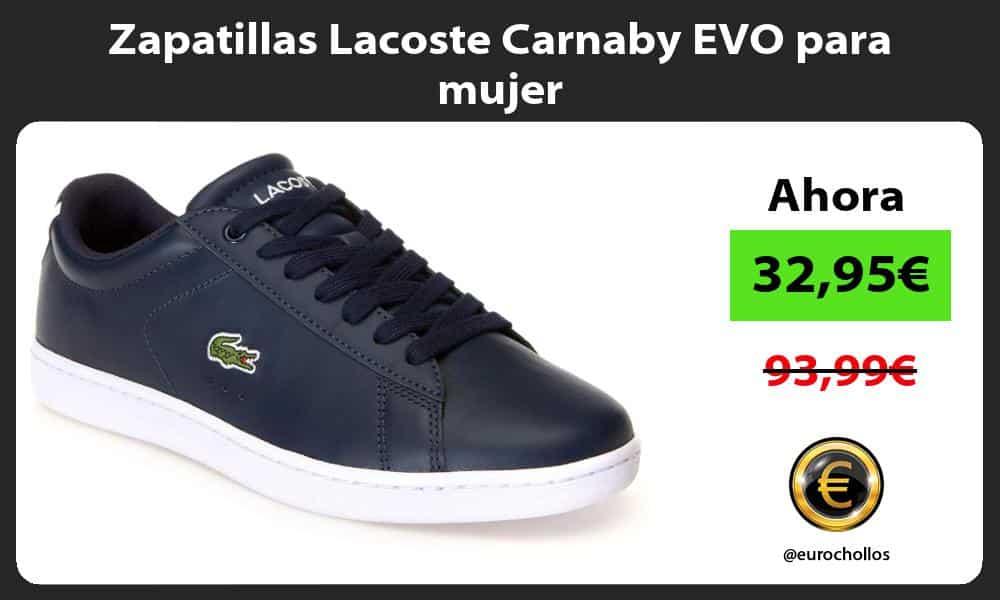 Zapatillas Lacoste Carnaby EVO para mujer