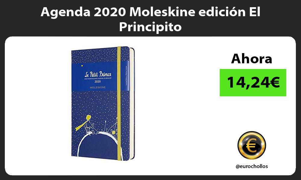 Agenda 2020 Moleskine edición El Principito