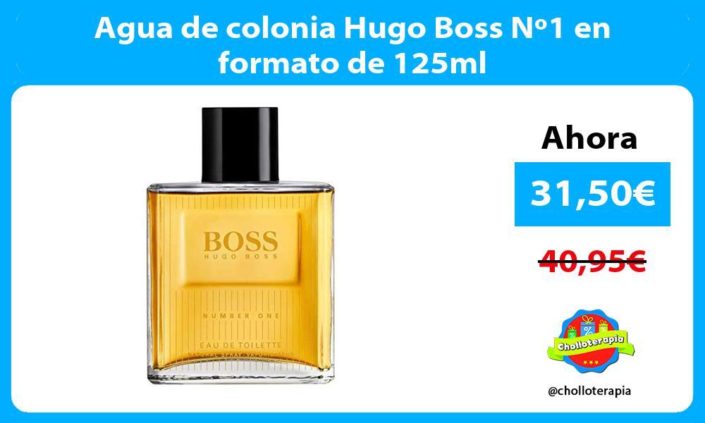 Agua de colonia Hugo Boss Nº1 en formato de 125ml