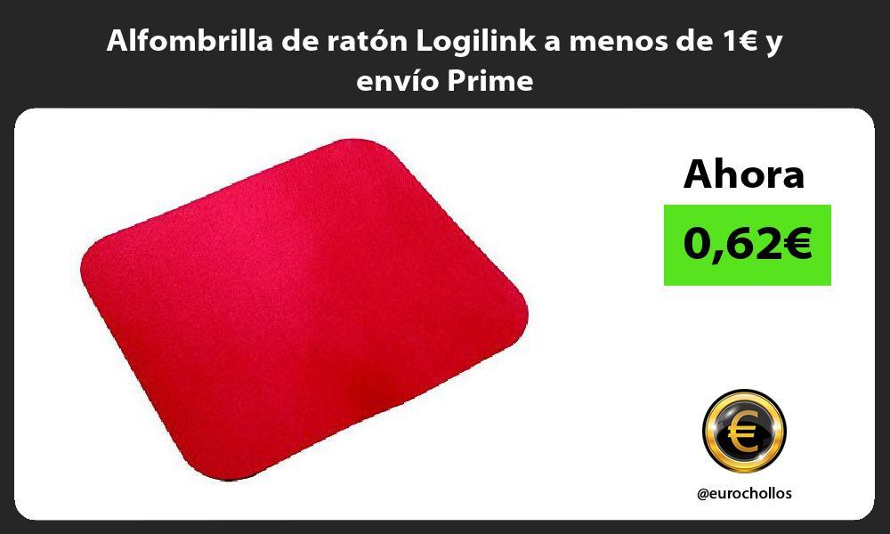 Alfombrilla de ratón Logilink a menos de 1€ y envío Prime