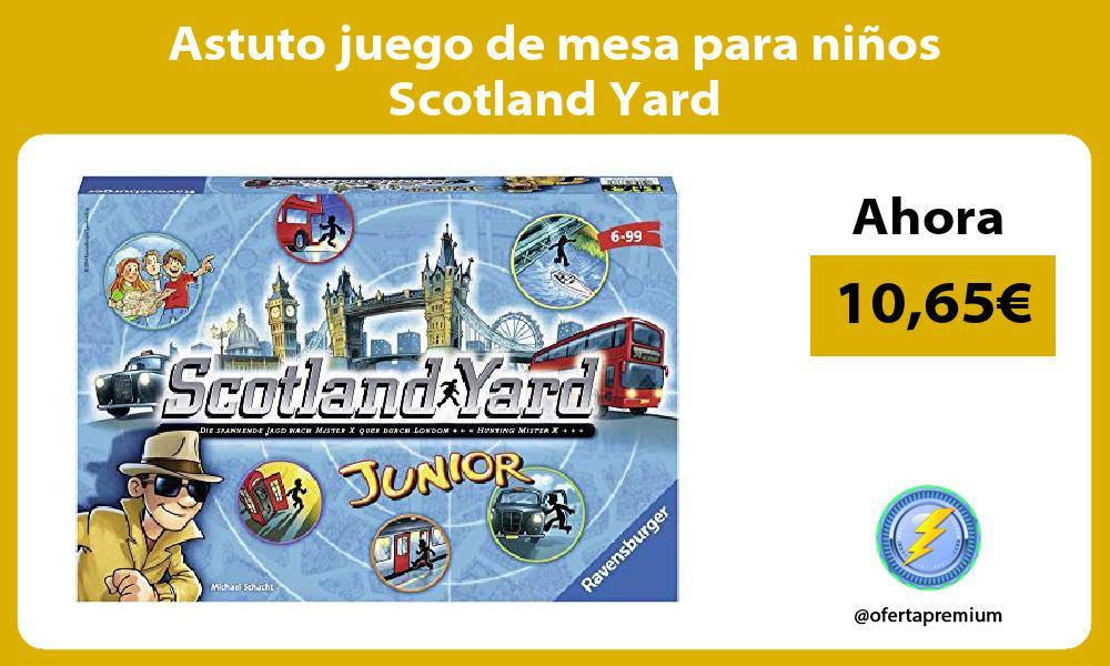 Astuto juego de mesa para niños Scotland Yard