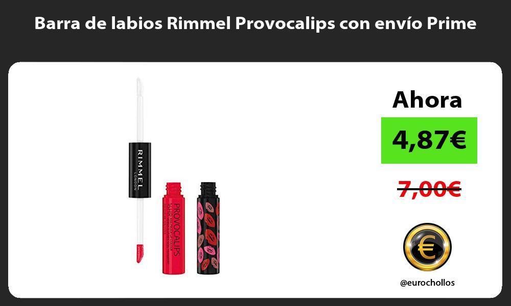 Barra de labios Rimmel Provocalips con envío Prime