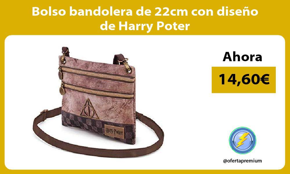 Bolso bandolera de 22cm con diseño de Harry Poter