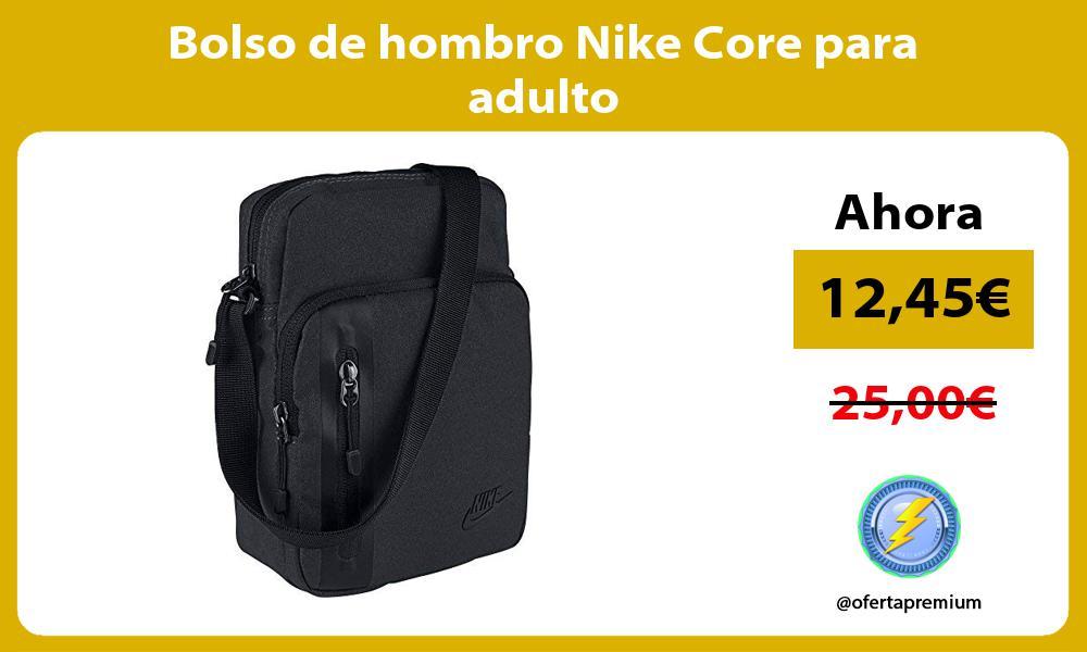 Bolso de hombro Nike Core para adulto