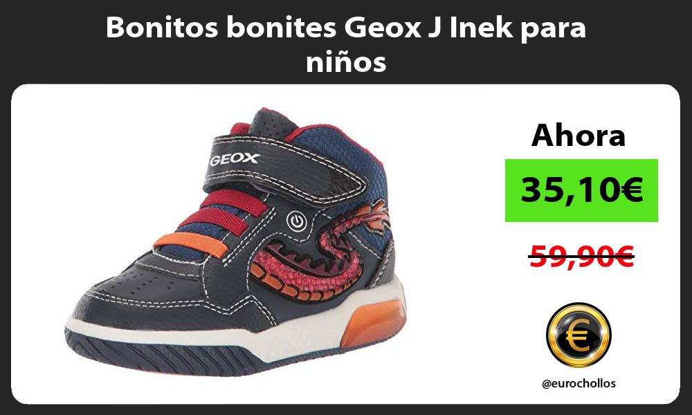 Bonitos bonites Geox J Inek para niños