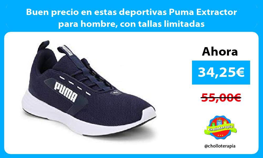 Buen precio en estas deportivas Puma Extractor para hombre con tallas limitadas