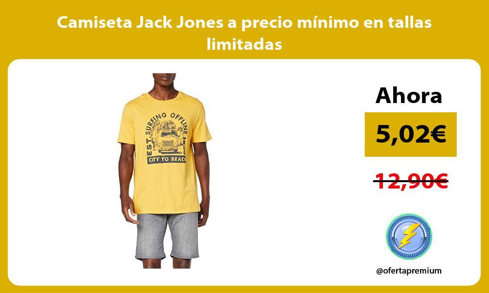 Camiseta Jack Jones a precio mínimo en tallas limitadas