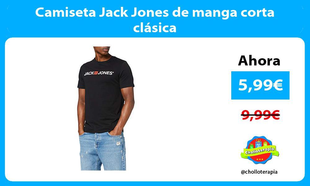 Camiseta Jack Jones de manga corta clásica