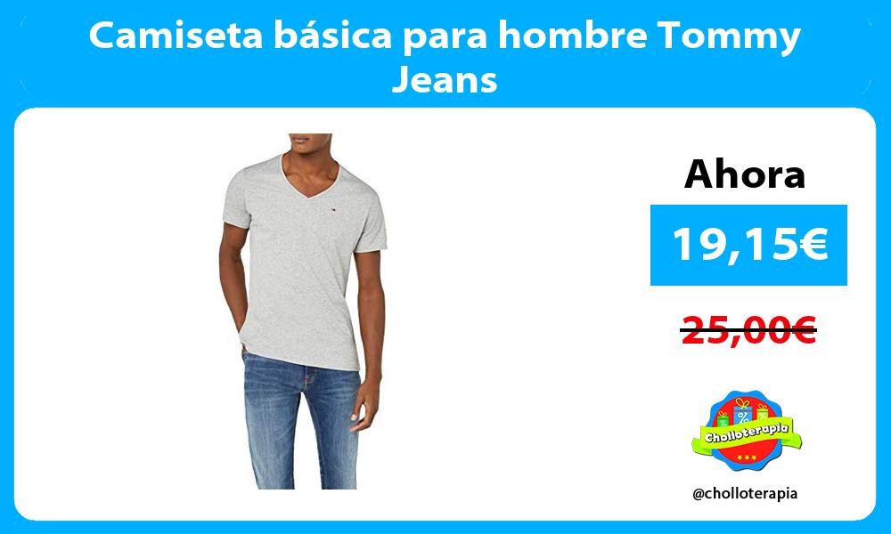 Camiseta básica para hombre Tommy Jeans