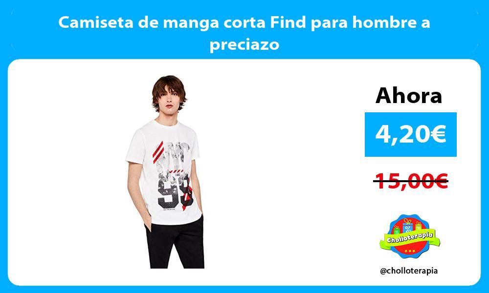 Camiseta de manga corta Find para hombre a preciazo