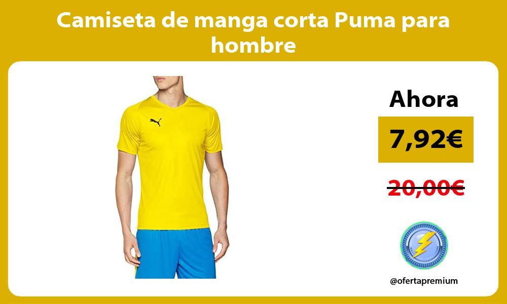 Camiseta de manga corta Puma para hombre