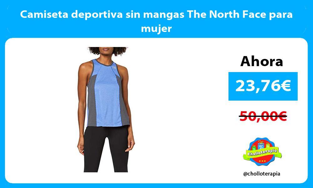 Camiseta deportiva sin mangas The North Face para mujer