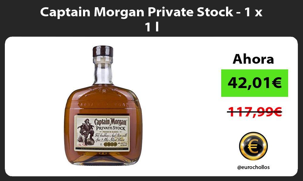 Captain Morgan Private Stock 1 x 1 l