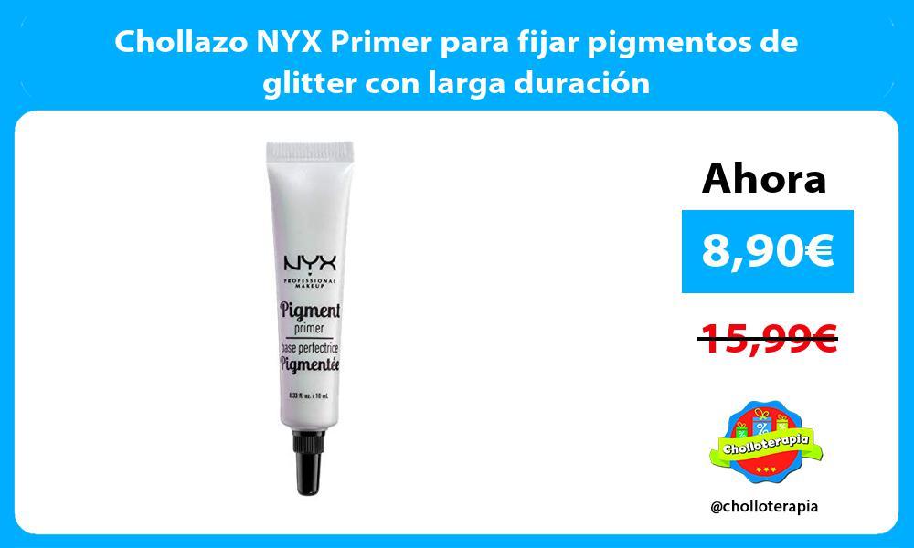 Chollazo NYX Primer para fijar pigmentos de glitter con larga duración