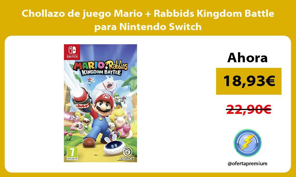 Chollazo de juego Mario Rabbids Kingdom Battle para Nintendo Switch