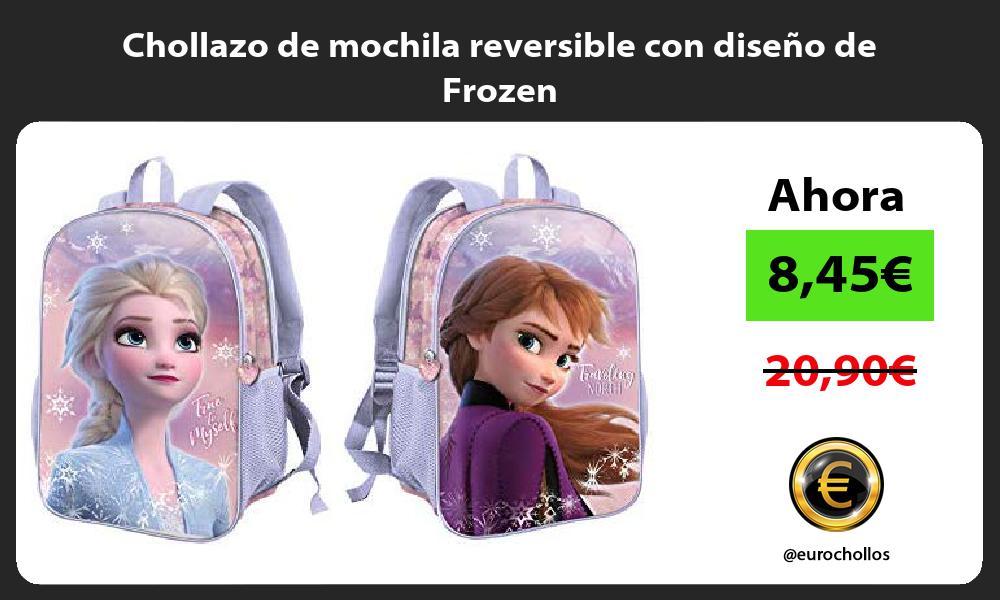 Chollazo de mochila reversible con diseño de Frozen