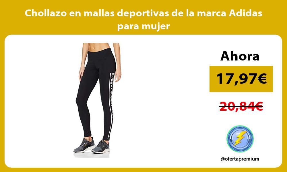 Chollazo en mallas deportivas de la marca Adidas para mujer